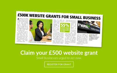 Sussex Digital Agency | Claim your £500 website grant