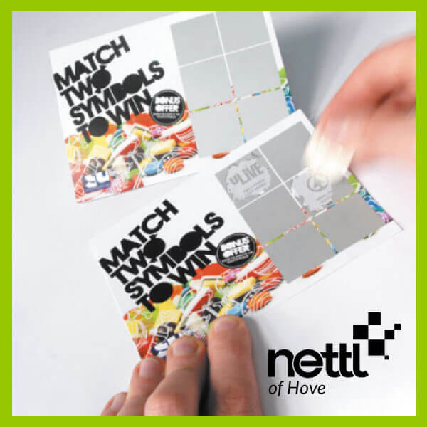 Printed Personalised Scratch Cards