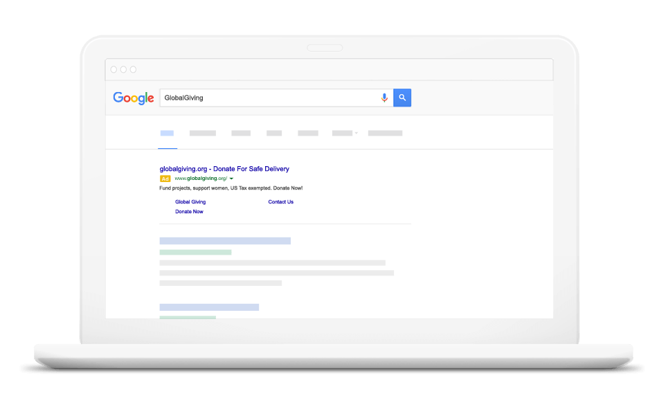 Google AdWords Grants for Charities